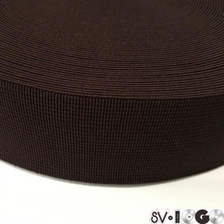 Резинка 50 мм для пояса коричневый (25 метров)