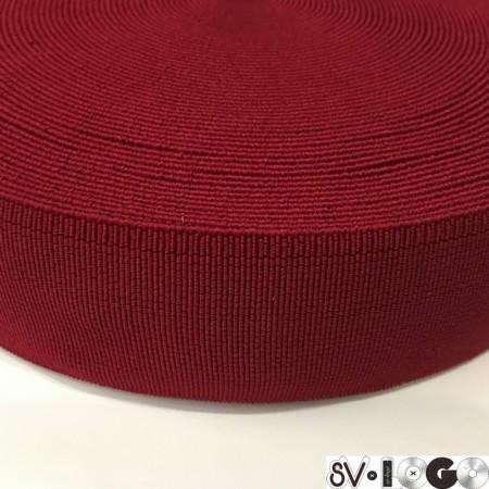 Резинка 50 мм для пояса красный (25 метров)