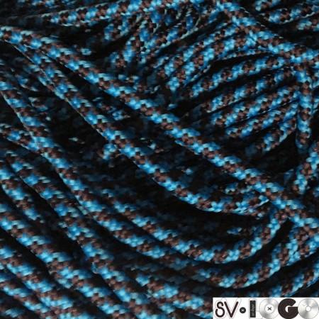 Шнур круглый ПЭ6х16 5 мм синий электрик (100 метров)