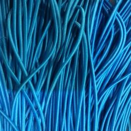 Резинка шнур производство 2,5см бирюза (50 метров)