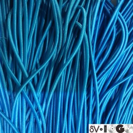Резинка шнур производство 2,5 см бирюза (50 метров)