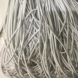 Резинка шнур производство 2,5см белый (50 метров)