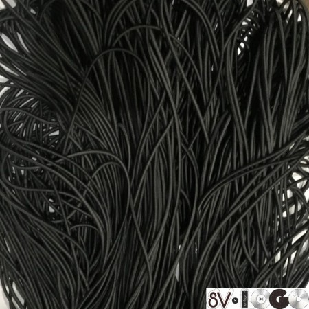 Резинка шнур производство 2,5 см хаки (50 метров)