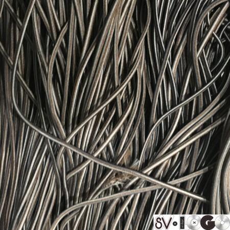 Резинка шнур производство 2,5 см коричневый серый (50 метров)