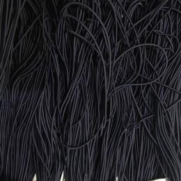Резинка шнур производство 2,5см синий темный (50 метров)