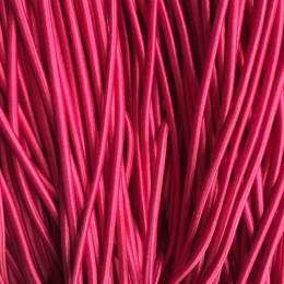 Резинка шнур производство 2,5см малиновый (50 метров)