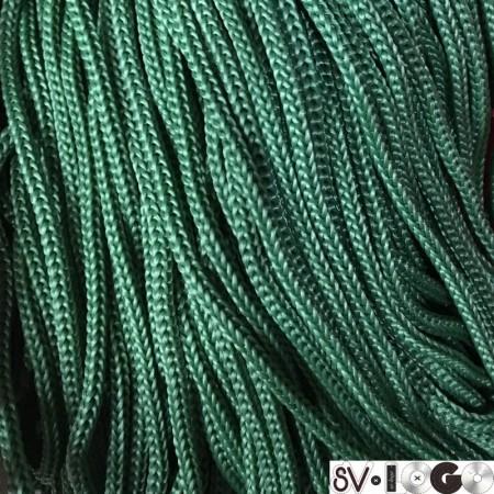 Шнур круглый 4 мм ПП зеленый (100 метров)