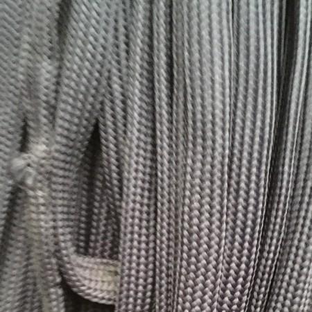 Шнур плоский чехол ПЭ40 20 мм серый светлый (50 метров)