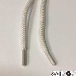 Шнурок куруглый 6мм шх 1,65м белый (пара)