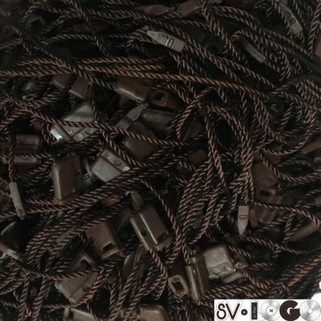 Крепеж-пломба для этикеток шнур