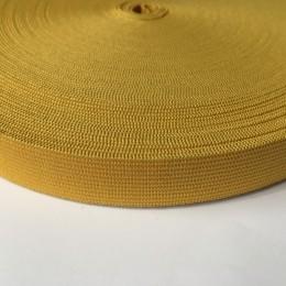 Резинка 20мм желтый (25 метров)