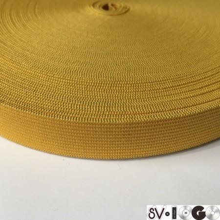 Резинка 20 мм желтый (25 метров)