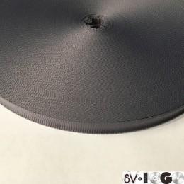 Тесьма репсовая производство 10мм серый светлый (50 метров)