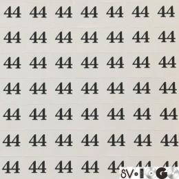 Размеры клеевые (320 на листе) 44 (лист)