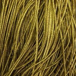 Резинка шнур производство 2,5см золото (50 метров)