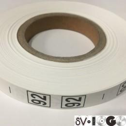 Размерная лента (накатка) 92 (1000 штук)
