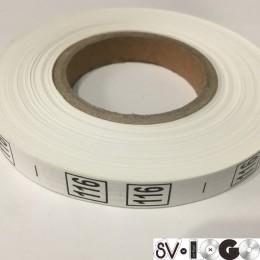 Размерная лента (накатка) 116 (1000 штук)