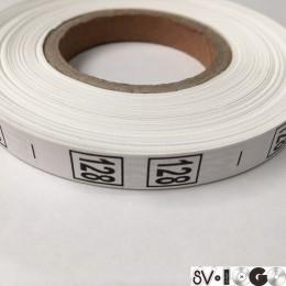 Размерная лента (накатка) 128 (1000 штук)