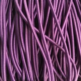 Резинка шнур производство 2,5см фиолетовый (50 метров)