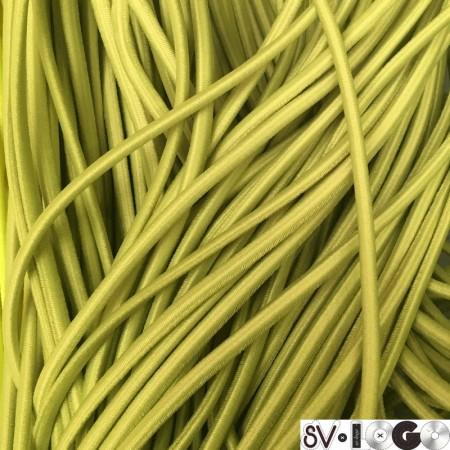 Резинка шнур производство 2,5 см салатовый  (50 метров)
