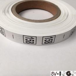 Размерная лента (накатка) 158 (1000 штук)