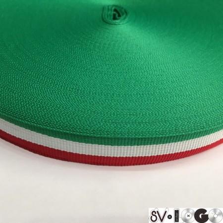Тесьма репсовая производство 20 мм Италия (50 метров)