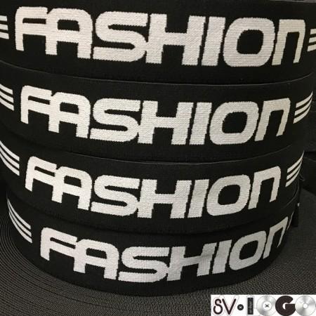 Резинка с логотипом для одежды