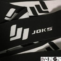 Резинка тканная жаккардовая с логотипом Joks 60мм (заказная) (метр )