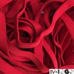 Резинка 15мм красная плотная (метр )