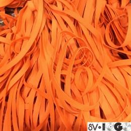 Резинка 6,5мм оранжвая (40 метров)